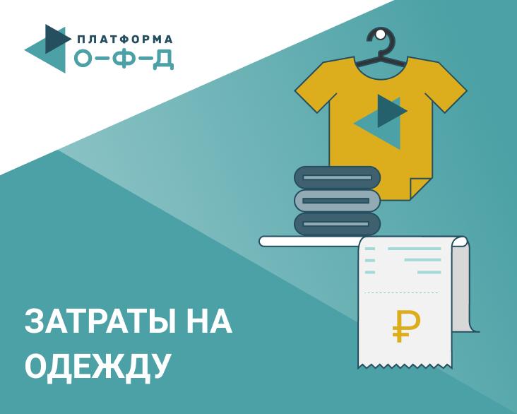 Обзор. Как меняется средний чек затрат россиян на одежду